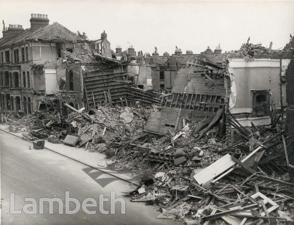 SANDMERE ROAD, BRIXTON: WORLD WAR II INCIDENT