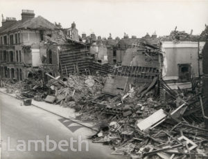 SANDMERE ROAD, BRIXTON: WORLD WAR II INCIDENT