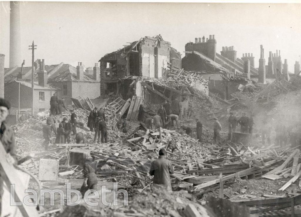 SOLON NEW ROAD, BRIXTON: WORLD WAR II INCIDENT