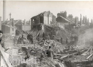 SOLON NEW ROAD, BRIXTON: WORLD WAR II INCIDENT