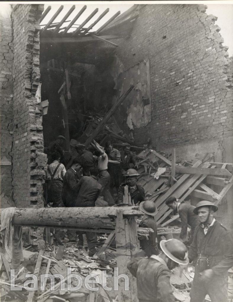 TRELAWN ROAD,  BRIXTON: WORLD WAR II INCIDENT