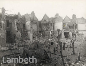 GUERNSEY GROVE, HERNE HILL: WORLD WAR II INCIDENT