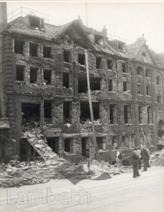 CAMBERWELL NEW ROAD, KENNINGTON: WORLD WAR II INCIDENT