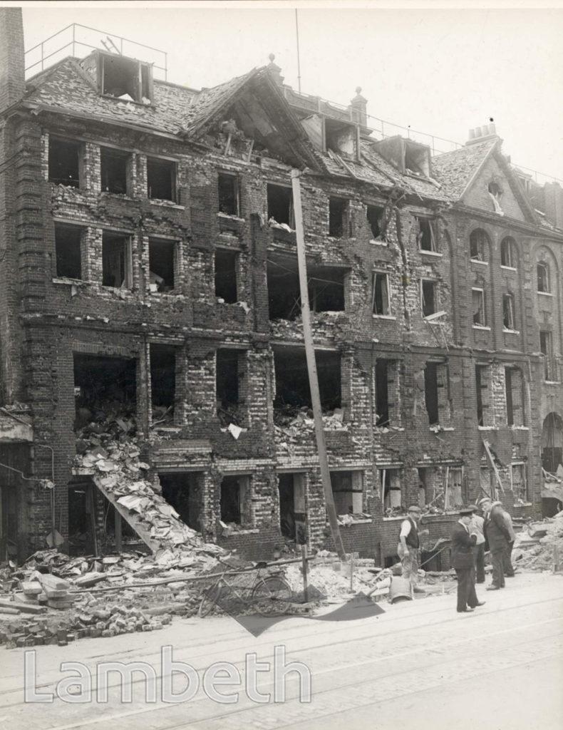 CAMBERWELL NEW ROAD, KENNINGTON: WORLD WAR II INCIDENT