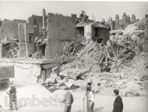 DANTE ROAD, KENNINGTON: WORLD WAR II INCIDENT