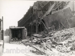 DANTE ROAD, KENNINGTON: WORLD WAR II INCIDENT