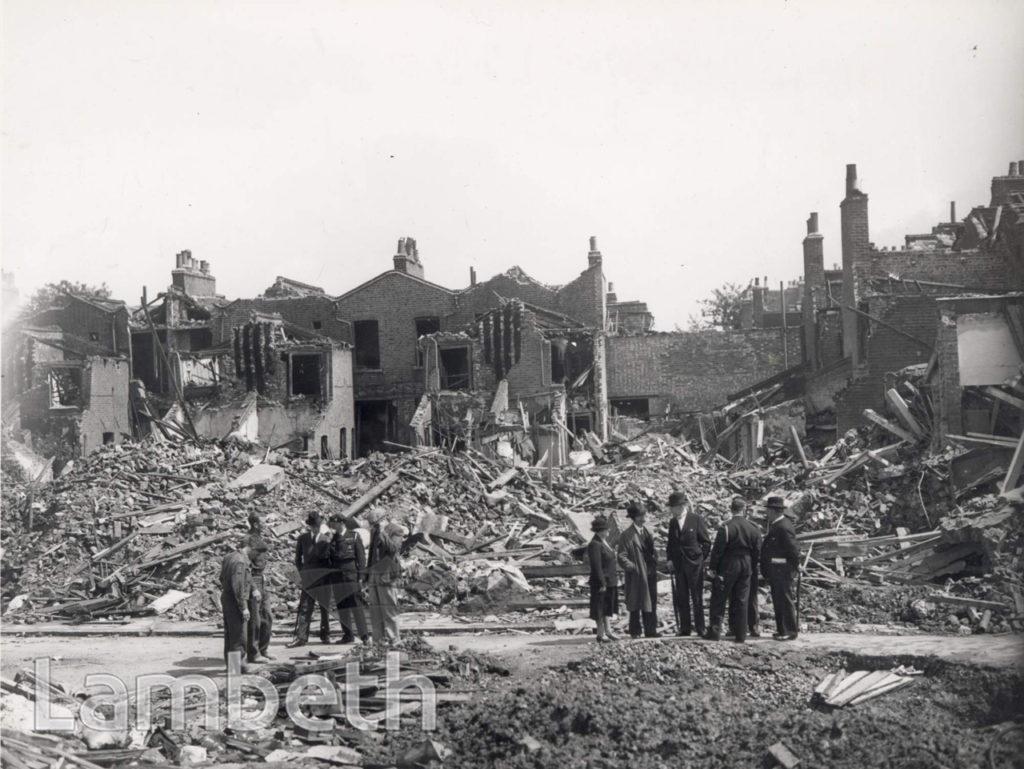 HILLINGDON STREET, KENNINGTON: WORLD WAR II INCIDENT