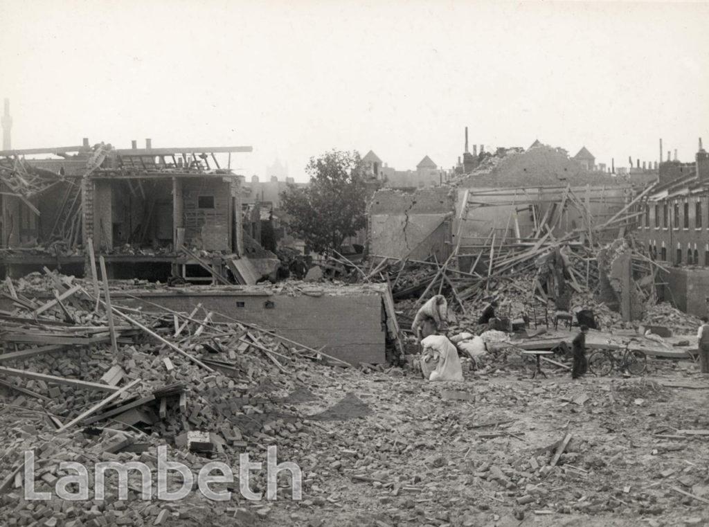 KENNINGTON LANE, KENNINGTON: WORLD WAR II INCIDENT