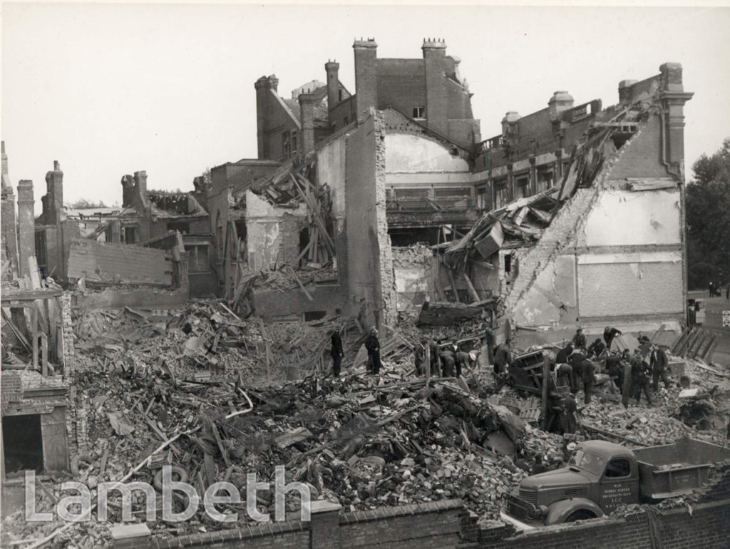 KENNINGTON ROAD, KENNINGTON: WORLD WAR II INCIDENT