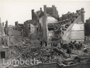 KENNINGTON ROAD, KENNINGTON: WORLD WAR II INCIDENT