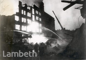 MONTFORD PLACE, KENNINGTON: WORLD WAR II INCIDENT