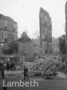 FENTIMAN ROAD, SOUTH LAMBETH: WORLD WAR II INCIDENT