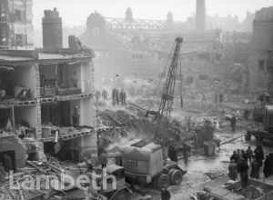 LAMBETH ROAD, LAMBETH: WORLD WAR II INCIDENT