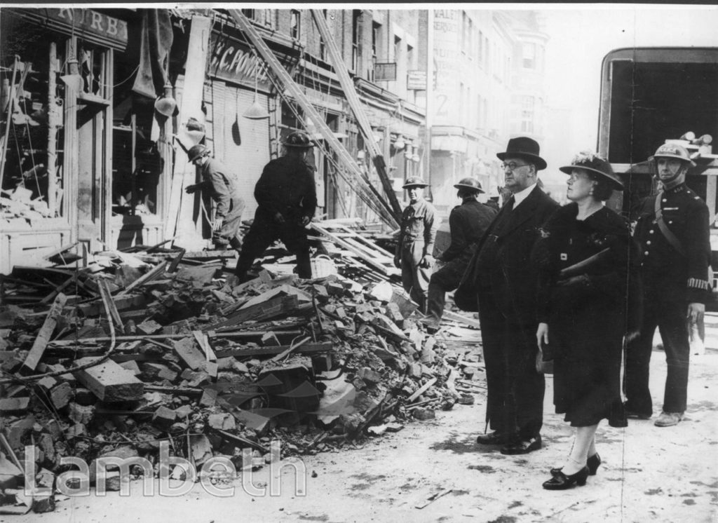 LAMBETH WALK, LAMBETH: WORLD WAR II INCIDENT