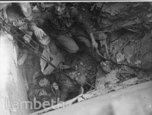CHATSWORTH WAY, WEST NORWOOD: WORLD WAR II INCIDENT
