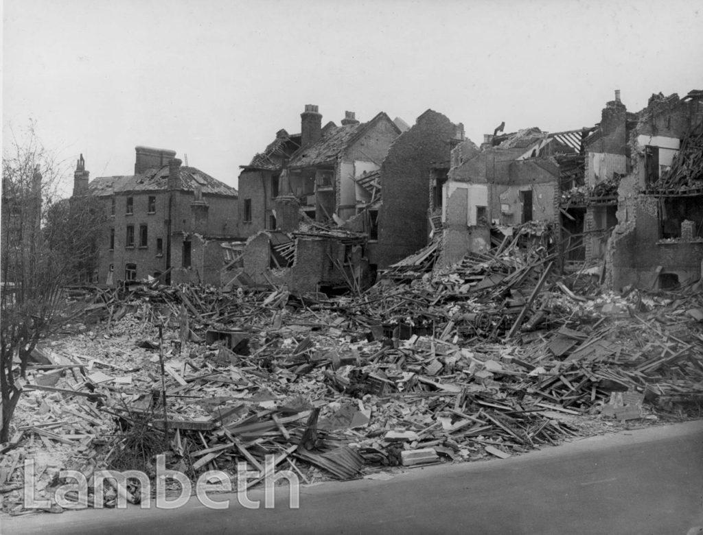 CROXTED ROAD, TULSE HILL: WORLD WAR II INCIDENT