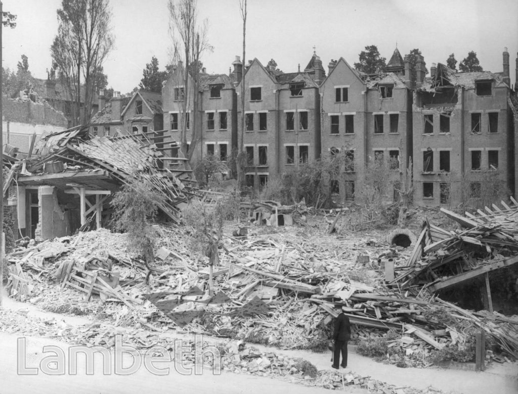 LANERCOST ROAD, TULSE HILL: WORLD WAR II INCIDENT