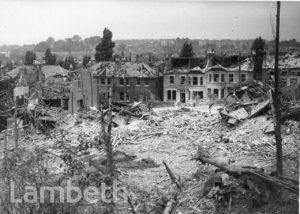 LANERCOST ROAD, TULSE HILL: WORLD WAR II INCIDENT
