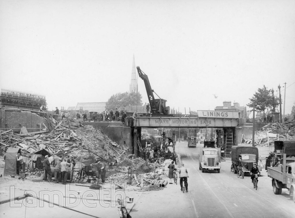 NORWOOD ROAD, TULSE HILL: WORLD WAR II INCIDENT
