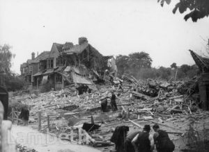 ROSENDALE ROAD, TULSE HILL: WORLD WAR II INCIDENT
