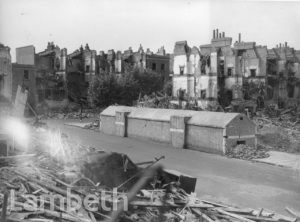 CLARENCE WALK, STOCKWELL: WORLD WAR II INCIDENT