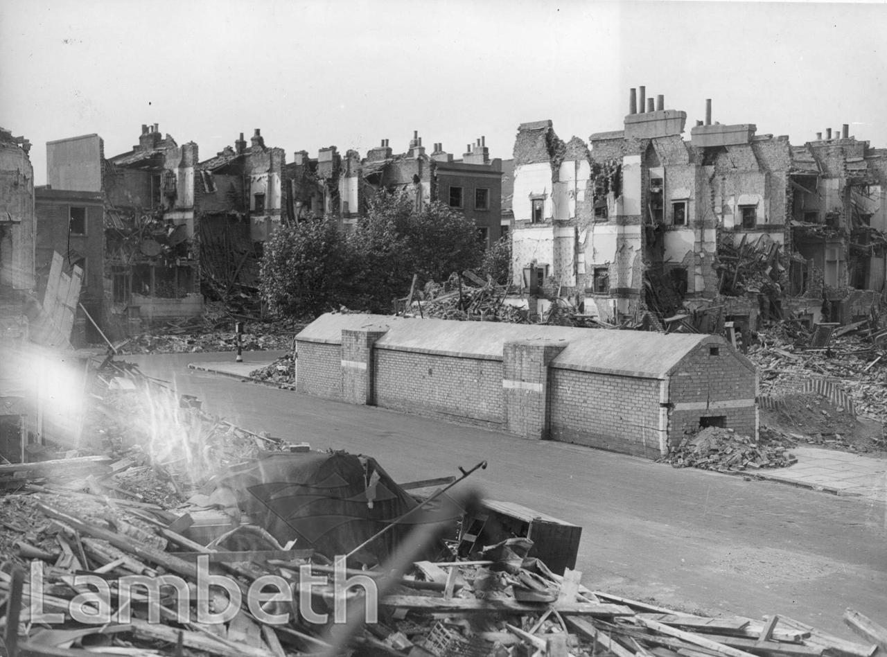CLARENCE WALK, STOCKWELL: WORLD WAR II INCIDENT