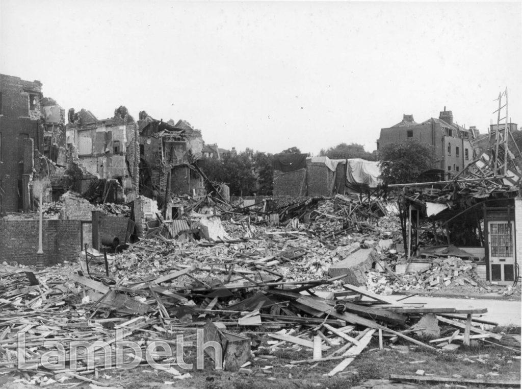 PARADISE ROAD, STOCKWELL: WORLD WAR II INCIDENT