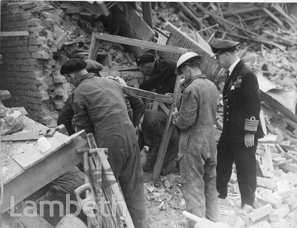 RUMSEY ROAD, BRIXTON CENTRAL: WORLD WAR II INCIDENT