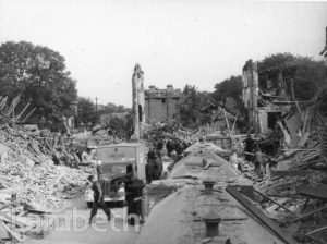 RUMSEY ROAD, BRIXTON: WORLD WAR II INCIDENT