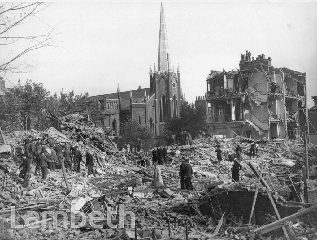 STOCKWELL PARK ROAD, STOCKWELL: WORLD WAR II INCIDENT