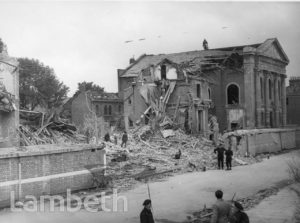 STUDLEY ROAD, STOCKWELL: WORLD WAR II INCIDENT