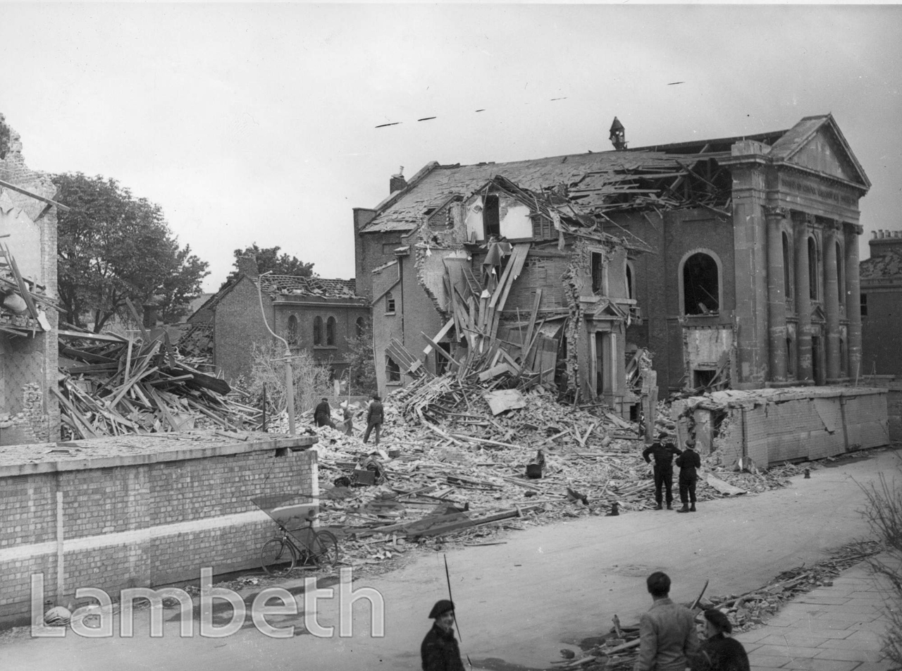 STUDLEY ROAD, STOCKWELL: WORLD WAR II INCIDENT