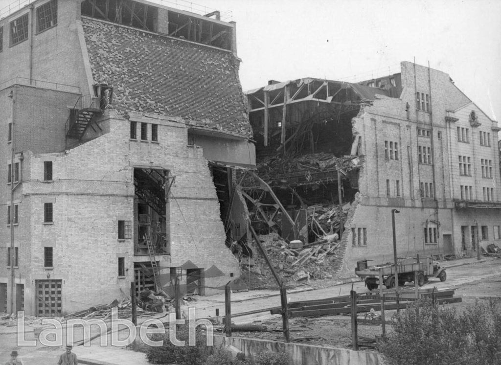 BARRHILL ROAD, STREATHAM HILL: WORLD WAR II INCIDENT