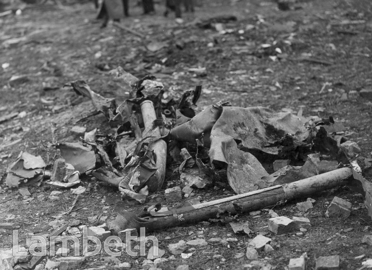 LAMBETH: WORLD WAR II, FLYING BOMB REMAINS