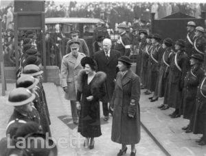 ROYAL VISIT, BRIXTON ROAD, BRIXTON : WORLD WAR II