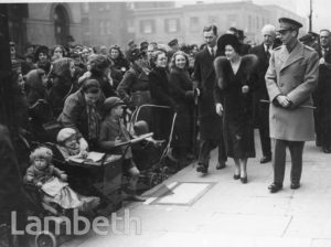 ROYAL VISIT: DUCHY OF CORNWALL ESTATE, KENNINGTON