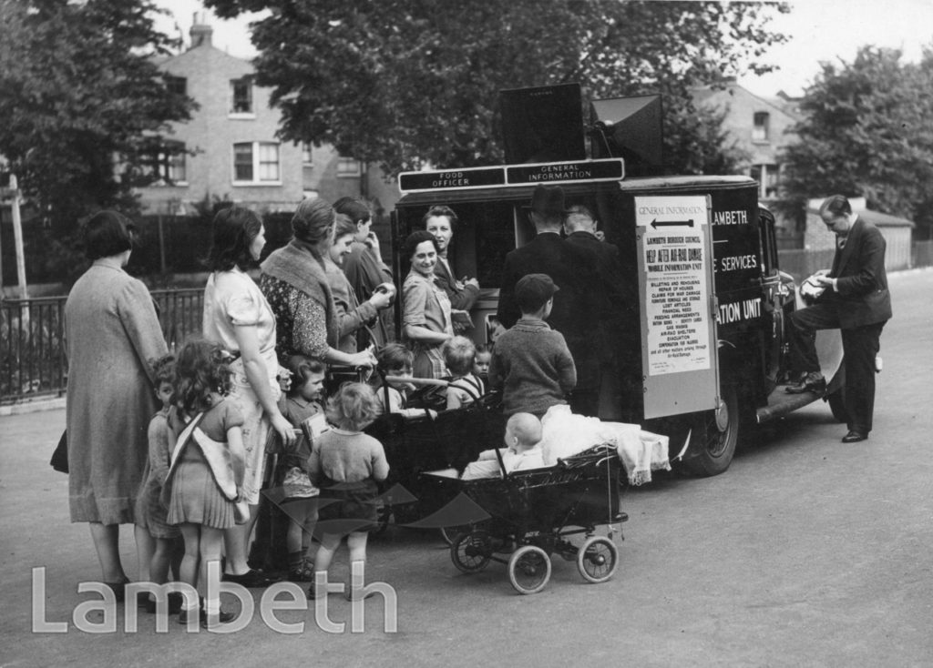 LAMBETH, WORLD WAR II: MOBILE INFORMATION UNIT