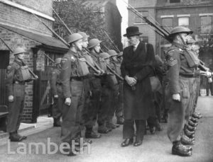FLODDEN ROAD, NORTH BRIXTON: WORLD WAR II INSPECTION