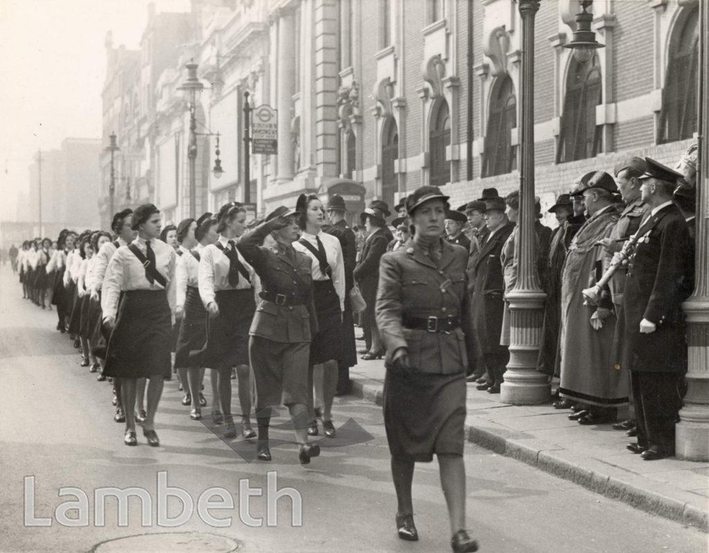 CIVIL DEFENCE SUNDAY, BRIXTON: WORLD WAR II