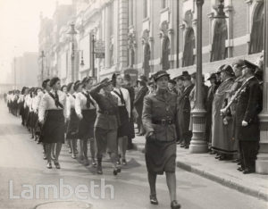 CIVIL DEFENCE SUNDAY, BRIXTON: WORLD WAR II