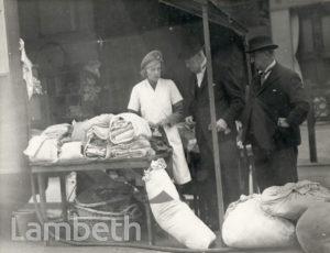 LORD MAYOR'S VISIT, LAMBETH : WORLD WAR II
