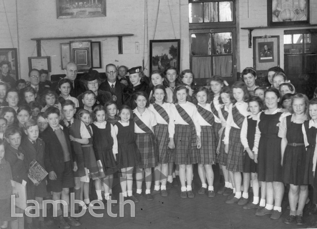 DISTRIBUTION OF TOYS, LOWER MARSH SCHOOL: WORLD WAR II: