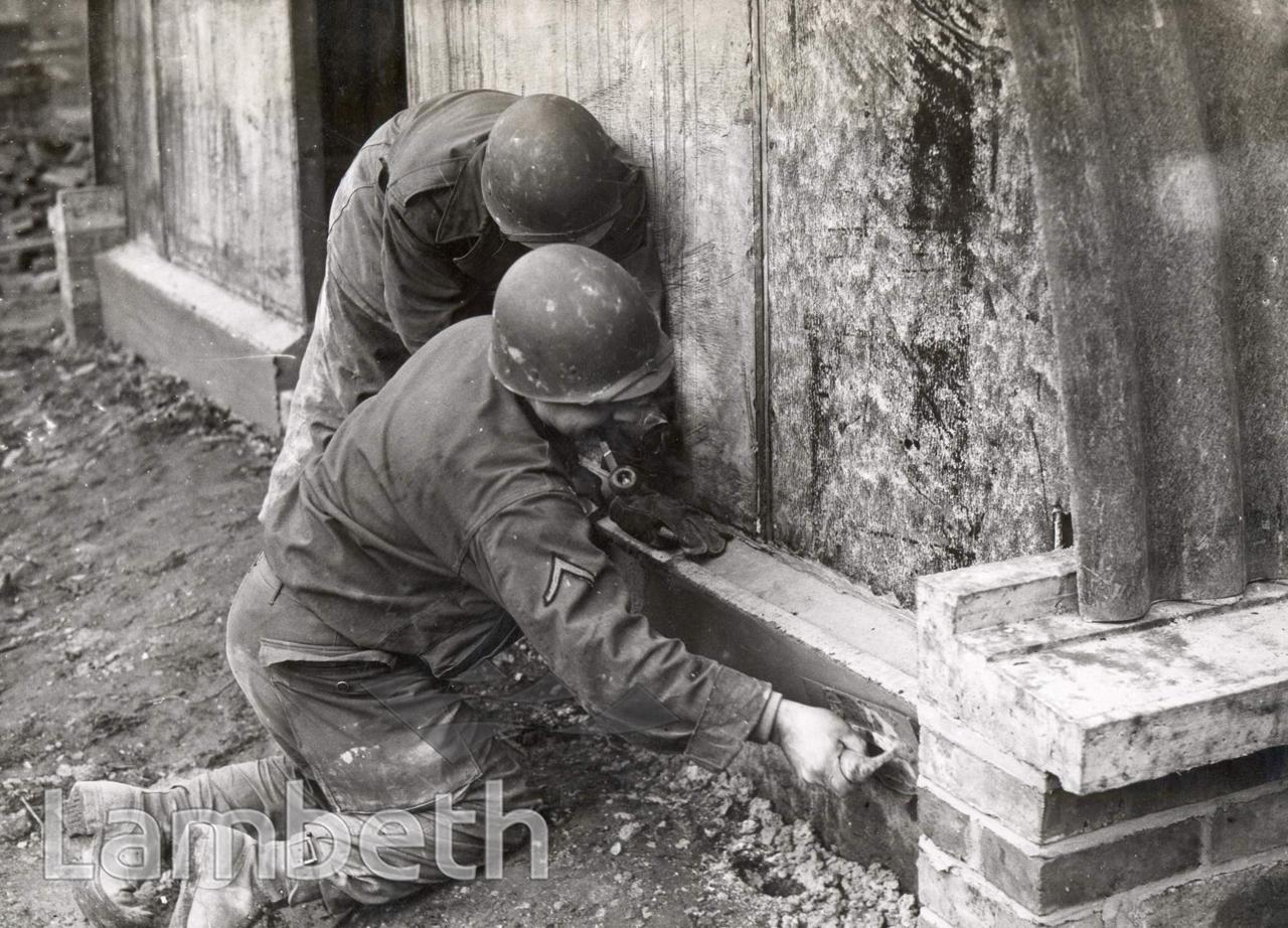 AMERICAN ENGINEERS, LOUGHBOROUGH JUNCTION : WORLD WAR II