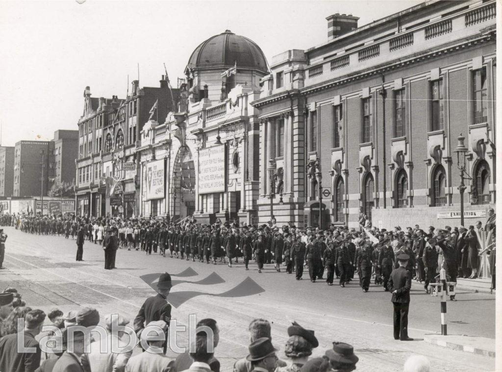 THANKSGIVING SUNDAY, CENTRAL BRIXTON : WORLD WAR II
