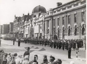 THANKSGIVING SUNDAY, CENTRAL BRIXTON : WORLD WAR II