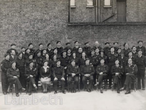 CIVIL DEFENCE SERVICE, LAMBETH, WORLD WAR II
