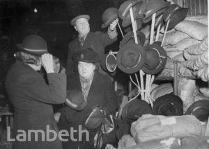 BRIGHTON TERRACE, CENTRAL BRIXTON: WORLD WAR II