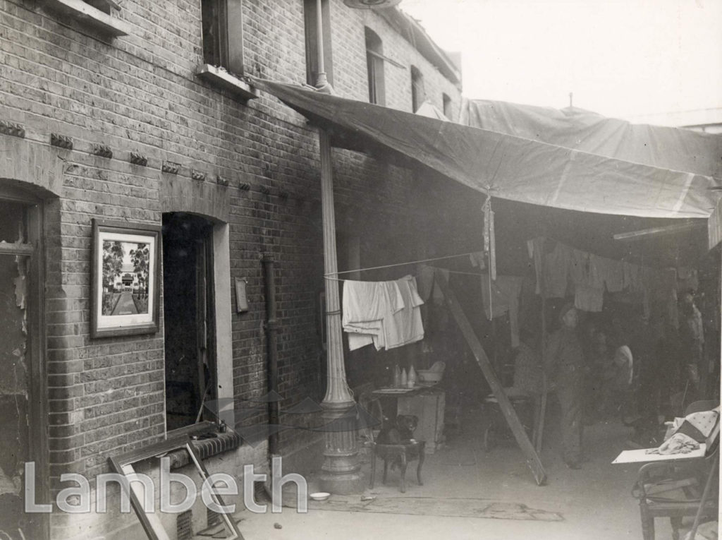 LAMBETH, WORLD WAR II: LIVING UNDER TARPAULIN