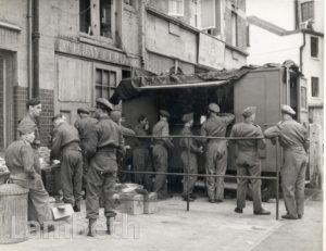 BRIGHTON TERRACE, BRIXTON: WORLD WAR II