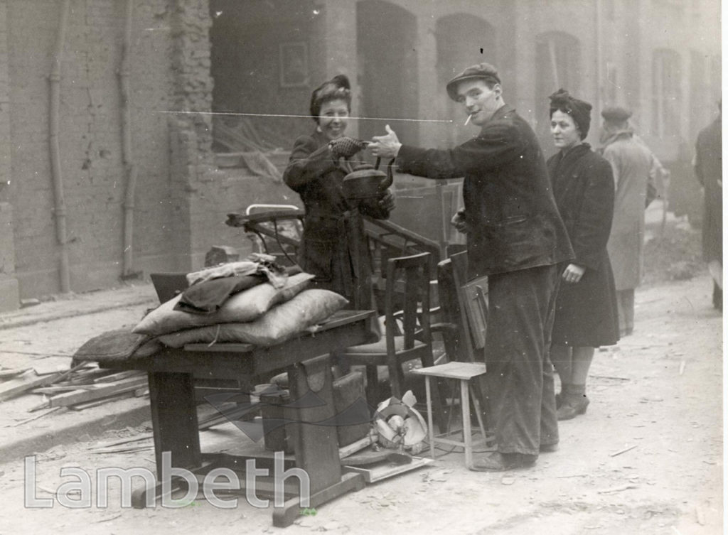 LAMBETH STREET, WORLD WAR II INCIDENT